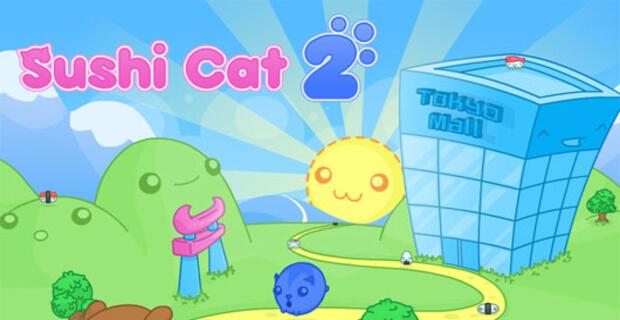 Cool math Games: Sushi Cat 2