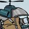Мощный вертолет