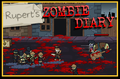 ruperts zombie diary action games play free games