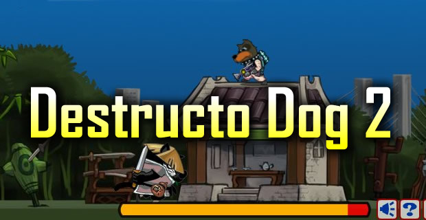Destructo dog 2 shooting games play free games online at armor