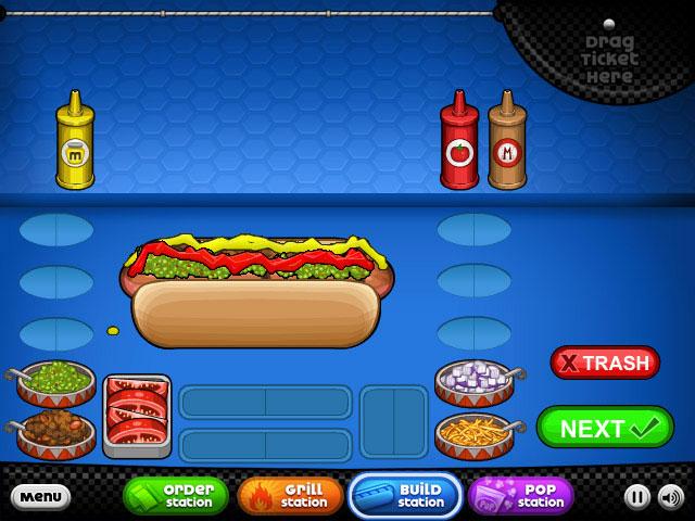 Pics photos papas hot doggeria game information