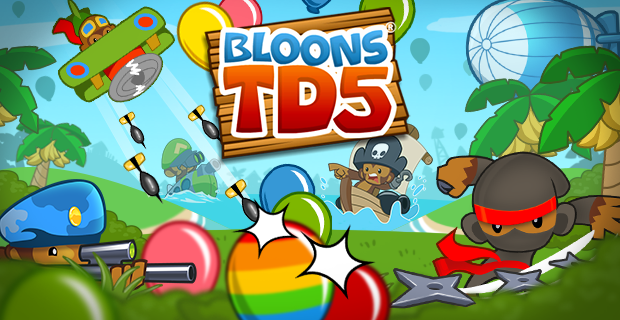 Bloons TD 5 - Play on Armor Games