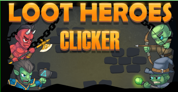Loot Heroes: Clicker - Play on Armor Games