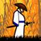 Самурай в соломенной шляпе