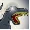 Роботы- динозавры, стреляющие пучками, когда они ревут
