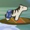 Пляжная зебра Джеймс