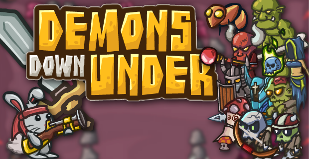 Demons Down Under - Play on Armor Games